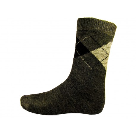 Pack 3 Socks ripple rhombus Men