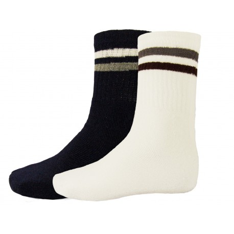 Pack 6 Socks tennis ripple Men